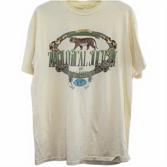 Hanes Other - L40 Vintage Zoological Society of San Diego Shirt